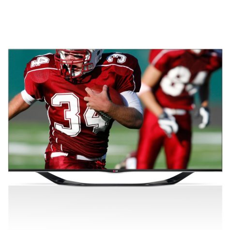 """55"""" LG LED 1080p 120Hz 3D Smart TV w/ Wi-Fi"""