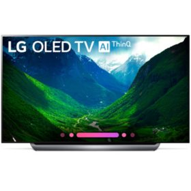 "LG 77"" 4K HDR Smart OLED TV w/AI ThinQ - OLED77C8PUA"