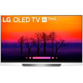 "LG 65"" 4K HDR Smart OLED TV w/AI ThinQ - OLED65E8PUA"