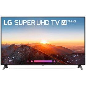 "LG 75"" Class 4K HDR Smart LED Super UHD TV w/AI ThinQ - 75SK8070AUB"
