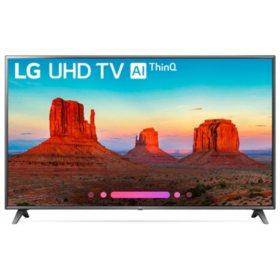 "LG 70"" Class 4K HDR Smart LED AI UHD TV w/ThinQ - 70UK6570AUB/PUB"