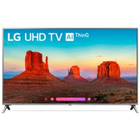 "LG 65"" Class 4K HDR Smart LED AI UHD TV w/ThinQ - 65UK6500AUA"
