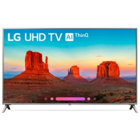 "LG 55"" Class 4K HDR Smart LED AI UHD TV w/ThinQ - 55UK6500AUA"