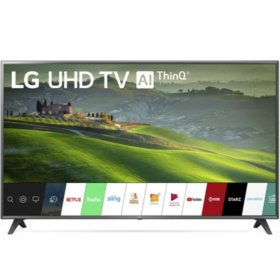 "LG 75"" Class 6970 Series 4K Ultra HD Smart HDR TV w/ AI ThinQ® - 75UM6970PUB"