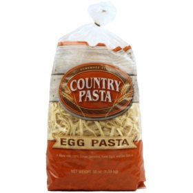Country Pasta Homemade Style Egg Pasta (56 oz.)
