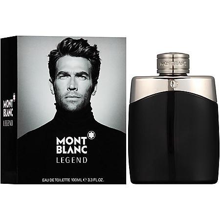 Mont Blanc Legend Eau de Toilette for Men, 3.3 fl. oz.
