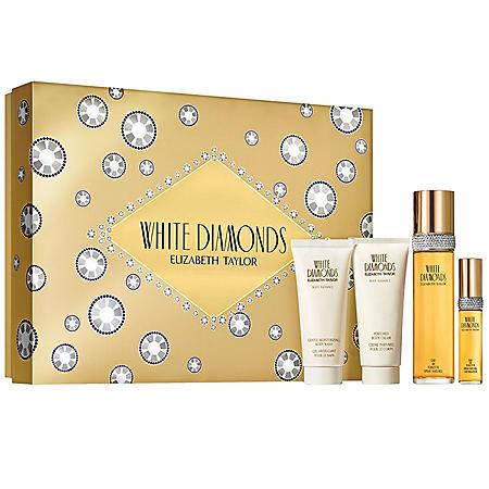 White Diamonds Ladies 4 Piece Gift Set