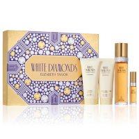 Elizabeth Taylor White Diamonds Women's Fragrance 4 Piece Gift Set