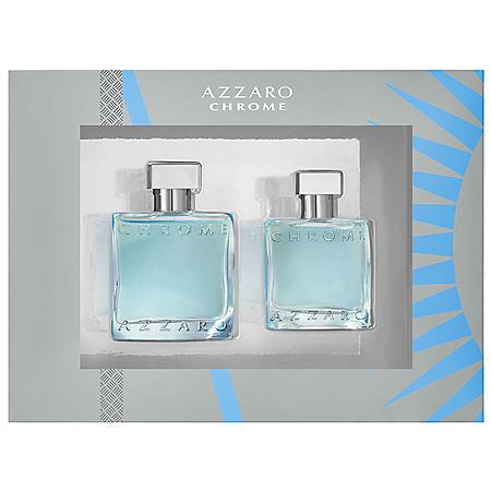 Azzaro Chrome Men's Cologne 2-Piece Gift Set