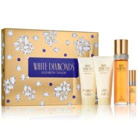 White Diamonds 4 Piece Ladies Gift Set