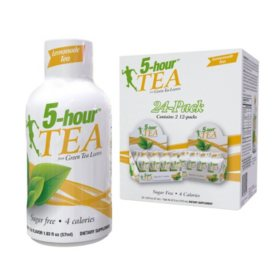 5-hour TEA Shots, Lemonade Flavored Energy Shot (1.93 oz., 24 pk.)