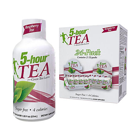 5-hour TEA Shots, Raspberry Flavored Energy Shot (1.93 oz., 24 pk.)