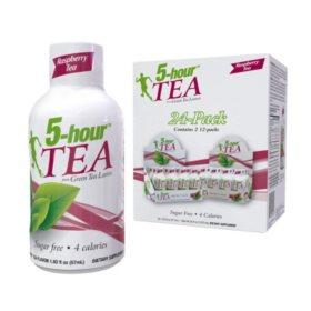 5-hour TEA Shots, Raspberry Flavored Energy Shot (1.93 oz., 24 pk.)