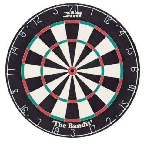 """Bristle Dart Board - """"The Bandit"""""""