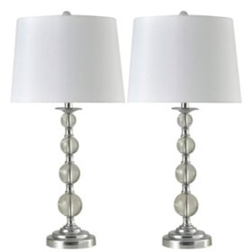 Member's Mark Peterson Lamps, Set of 2
