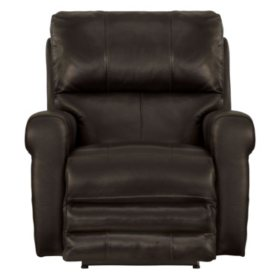 Calvin Italian Leather Power Recliner