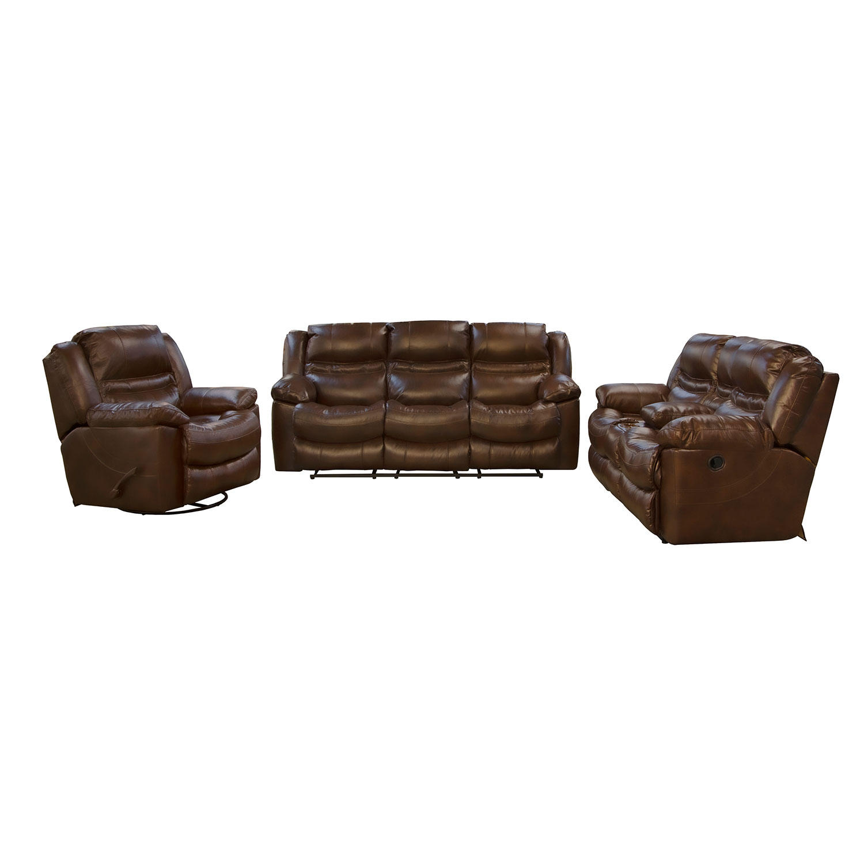 Monroe 3-Piece Manual Reclining Sofa Set