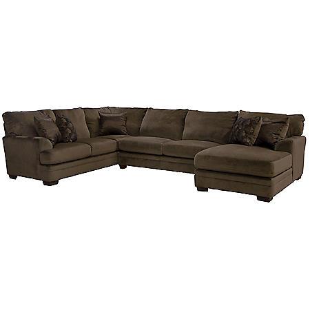 Charlie 3-Piece Sectional Sofa