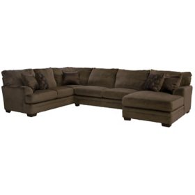 Charlie 3-Piece Sectional Sofa