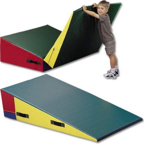 """Folding Downhill Mat - 6'L x 4'W x 16""""H"""