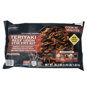 Monterey Gourmet Foods Teriyaki Beef Udon Stir Fry Kit (35 oz.)