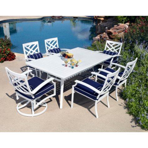 Spring Harbor Outdoor Patio Dining Set 7 pc.  Original Price $999.00  Save $426.00