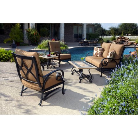 Monte Carlo Outdoor Patio Deep Seating 5 pc.  Original Price $1199.00  Save $100