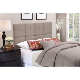 Tessa Linen Upholstered Headboard Tiles (Assorted Sizes)