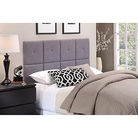 Tessa Linen Upholstered Headboard Tiles (Assorted Sizes)