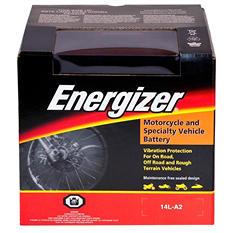 Energizer PowerSport Battery - Group Size 14LA2