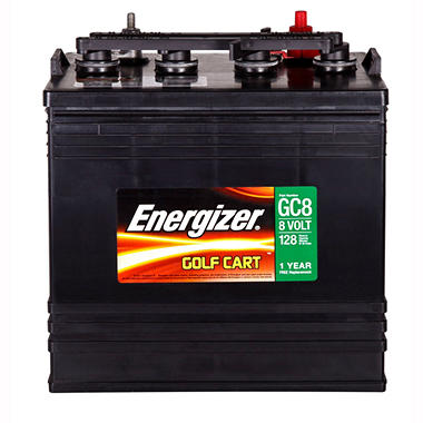 Energizer Golf Cart Battery - Group Size GC8 - Sam's Club