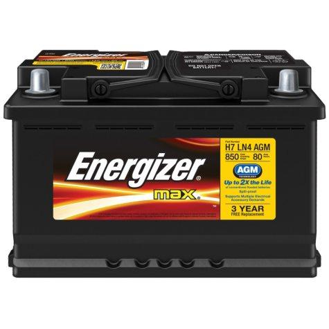 Energizer AGM Automotive Battery - Group Size H7 LN4
