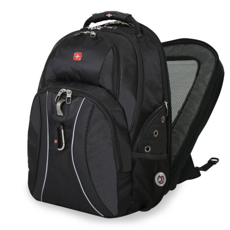 SwissGear ScanSmart Laptop Backpack, Select Color