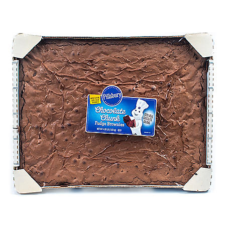 Pillsbury Chocolate Chunk Fudge Brownies (64.8oz)