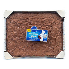Pillsbury Chocolate Chunk Fudge Brownies (4 lb.)