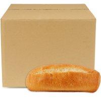 Regular White Hoagie Rolls, Bulk Wholesale Case (84 ct.)