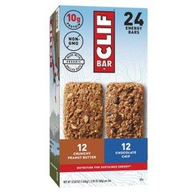 Clif Bar Variety Pack (2.4 oz, 24 ct.)