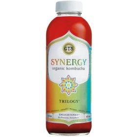 GT's Synergy Organic Kombucha, Trilogy (16 oz., 6 pk.)