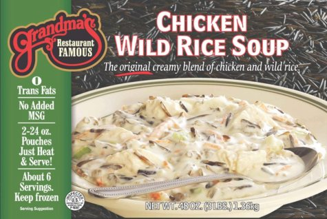 Grandma's Restaurant Famous Chicken Wild Rice Soup  (2 ct., 48 oz. pouches)