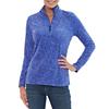 Eddie Bauer Ladies Vine Print Fleece 1/4 Zip Deals