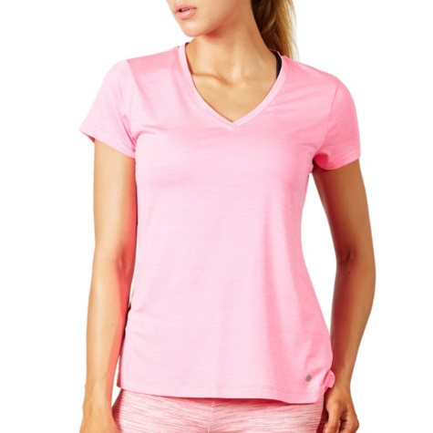 Bally Total Fitness Ladies Active Space Dye Tee