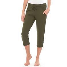 Eddie Bauer Ladies French Terry Capri Pants