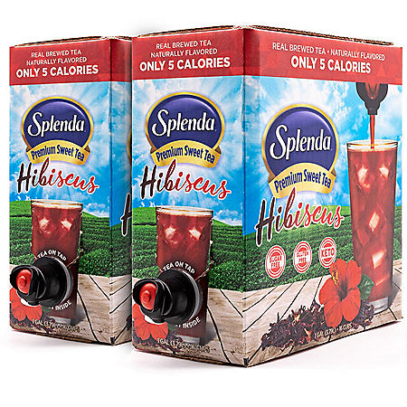 SPLENDA Premium Sweet Tea on Tap, Hibiscus (256 oz.)