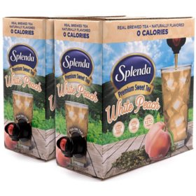 SPLENDA Premium Sweet Tea on Tap, White Peach Green Tea (256 oz.)