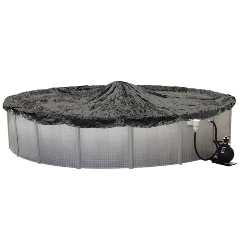 LifeSmart 18' Round 8 Yr Winter Cover for Above Ground Pools