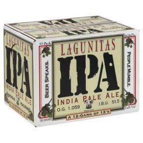 Lagunitas India Pale Ale (12 fl. oz. can, 12 pk.)