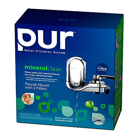PUR® Faucet Mount- 2 Filter Pack