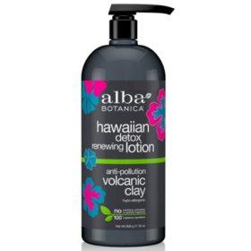Alba Botanica Hawaiian Detox Renewing Lotion (32 oz.)