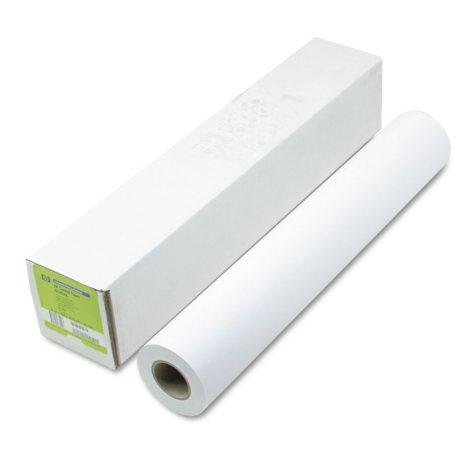 "HP Designjet Inkjet Large Format Paper,4.9 mil, 24"" x 150 ft,  White"