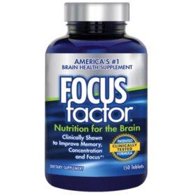 FOCUSfactor - 150 Tablets